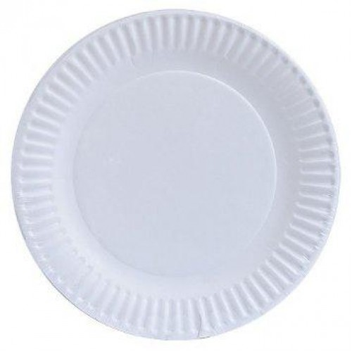 Disposable Paper Plate 9 Inch Pack of 50