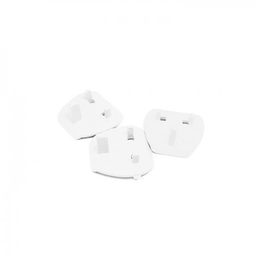 2 Pin Plug Plastic Adapter Pack of 3