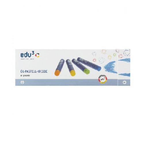 EDU3 OIL PASTEL 24 COLOURS