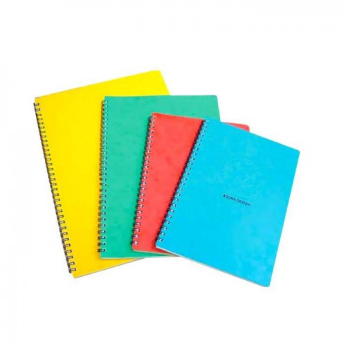 A4 NOTEBOOK UNO RING - 100 PAGES AZONE