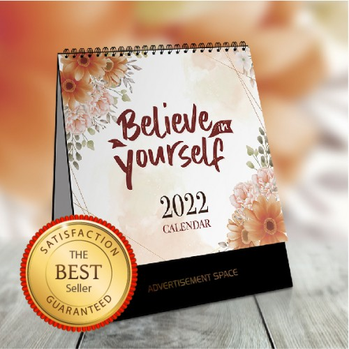 2022 Singapore Calendar With School Holiday - Believe In Yourself Theme
