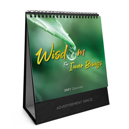 2021 Calendar - Wisdom For Inner Beings - S8804