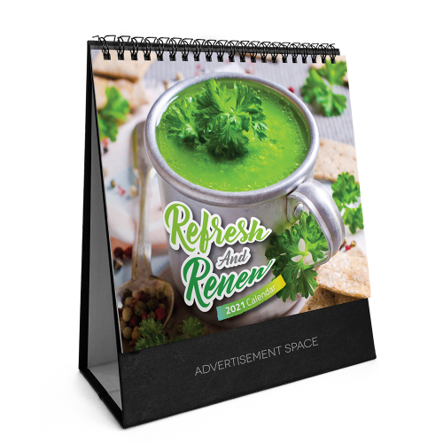 2021 Calendar - Refresh And Renew - S8807
