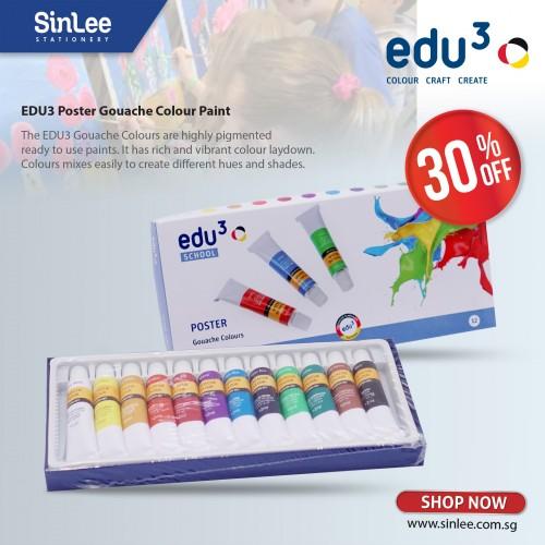 Edu3 Poster Gouache Colours