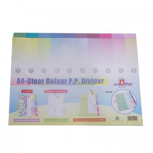 Seaking A4 PP 11 Binder Hole Index - 10PCS